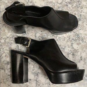Michael Kors Slingback Heels Size 7 1/2